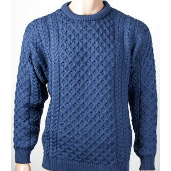 Traditional Handknit Aran Sweaters for Men