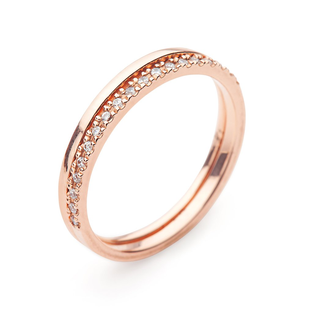 9kt Gold Diamond Ring by MoMuse