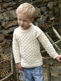 Kids Aran Sweater. Product thumbnail image