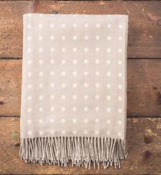 Bone Spot Throw by Foxford Woollen Mills. Product thumbnail image