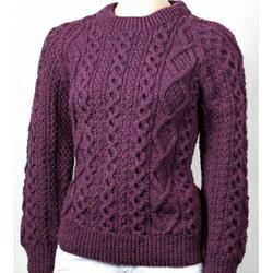 Aran Handknit Sweaters for Women. Product thumbnail image