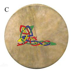 "14"" Bodhran with Celtic Design.. Product thumbnail image"
