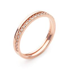 9kt Gold Diamond Ring by MoMuse. Product thumbnail image
