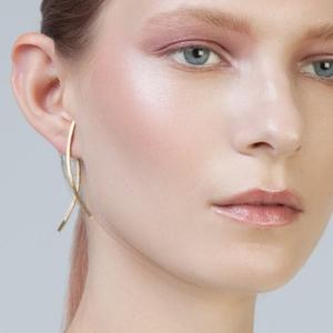 Namara Double Earring in Gold by Inner Island. Product thumbnail image