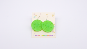 Lime Slices Earrings. Product thumbnail image